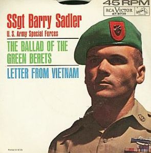 The Green Berets - Record Cover