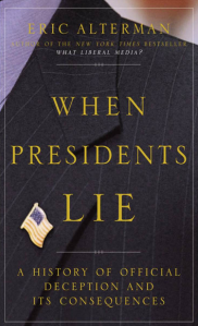 When Presidents Lie - cover