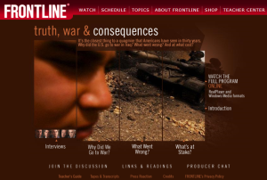 PBS FRONTLINE - Truth, War & Consequences